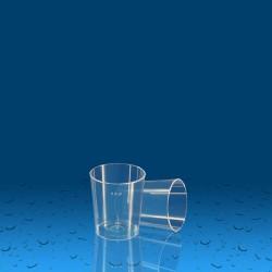 Plastičen kozarec PS 30 ml, 35 kos