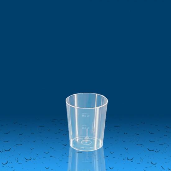Plastičen kozarec PP 50 ml, 540 kos