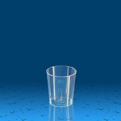 Plastičen kozarec PS 50 ml, 30 kos