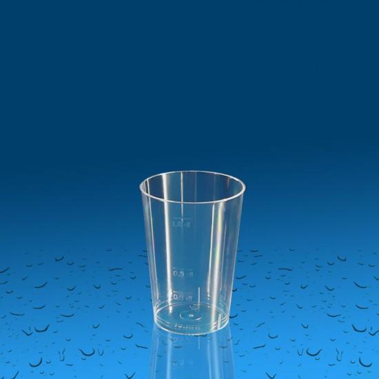 Plastičen kozarec PS 100 ml, 30 kos