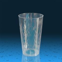 Plastičen kozarec PP 300 ml romb, 420 kos