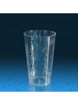 Plastičen kozarec PS 300 ml romb, 420 kos